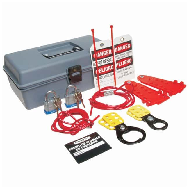 Brady Cable Lockout Kit Cable, lockout; Polyethylene; 6.5 in. x 12 in.