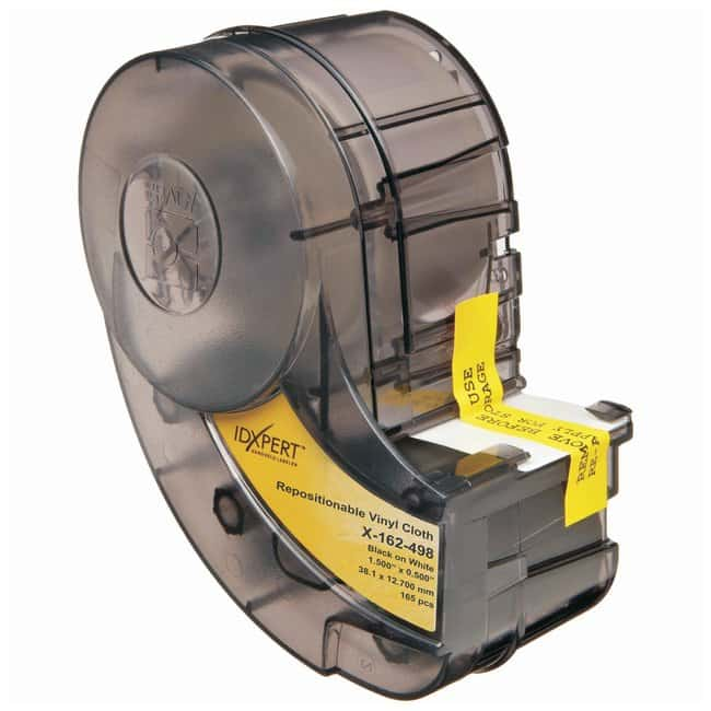 Brady CleanLift IDXPERT Labels, Repositionable Vinyl Cloth Wire and Cable