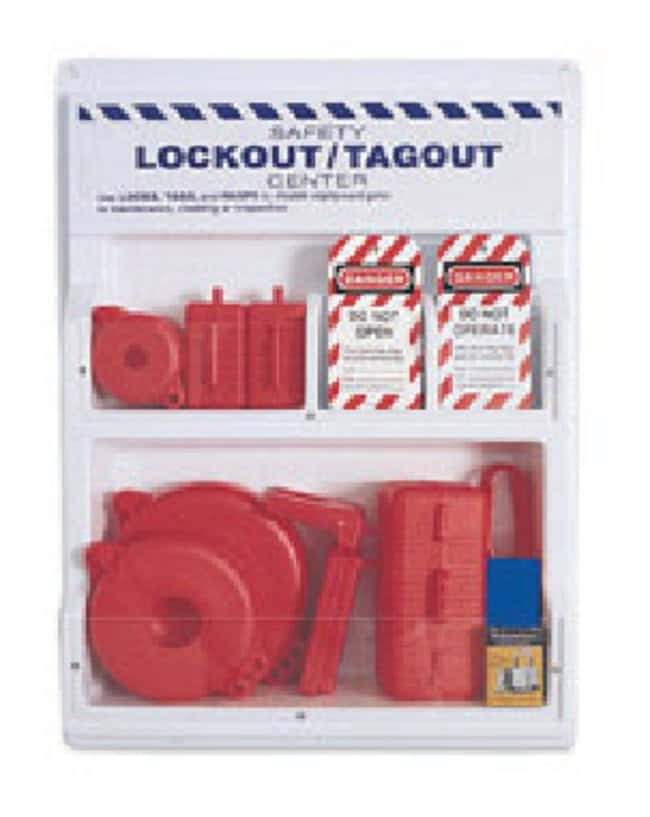 Honeywell Lockout Stations Complete MT Departmental Lockout Station:Gloves,