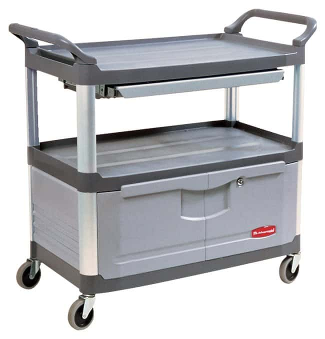 Rubbermaid™ Xtra™ Black Utility Carts
