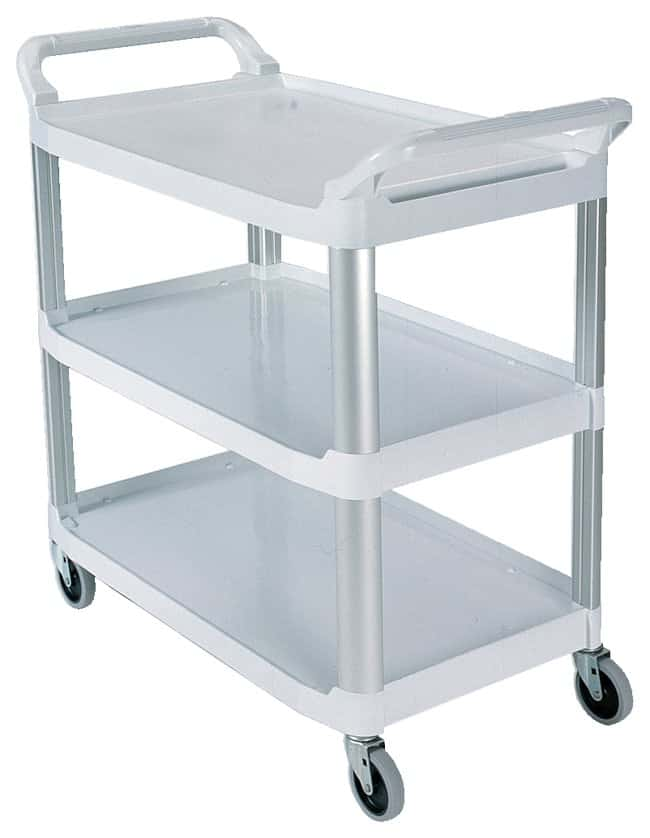 rubbermaid xtra white utility cart furniture storage casework carts