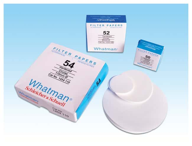 GE Healthcare Whatman™ Grade 52 Quantitative Filter Paper Grade 52; Diameter: 11cm GE Healthcare Whatman™ Grade 52 Quantitative Filter Paper