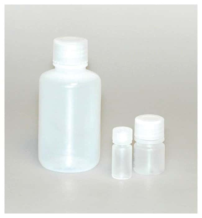 DWK Life Sciences Wheaton™ Leak-Resistant HDPE Bottles with Caps Capacity: 2 oz. (60mL) DWK Life Sciences Wheaton™ Leak-Resistant HDPE Bottles with Caps