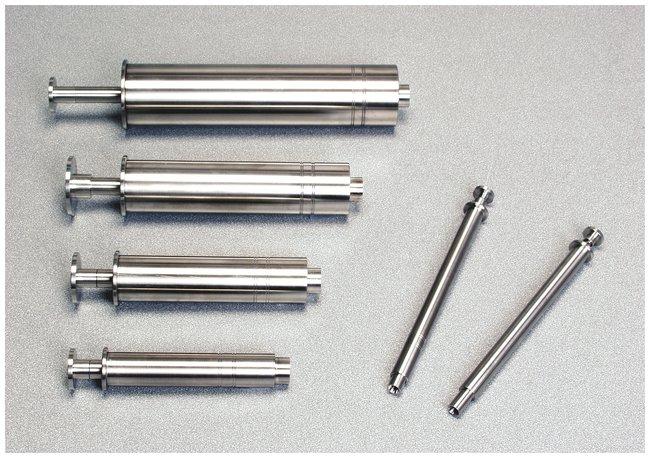 KD ScientificStainless-Steel Syringes Volume 100mL; Swagelok 1/16 in. KD ScientificStainless-Steel Syringes