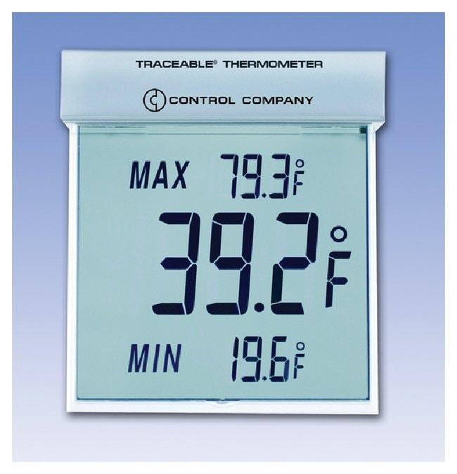 Fisherbrand™Termometro Traceable™ Big-Digit See-Thru™ Farenheit Scale; Range: -13° to +158°F Fisherbrand™Termometro Traceable™ Big-Digit See-Thru™