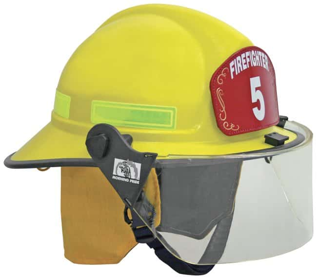 Honeywell Lite Force Plus Structural Helmets Yellow; w/Yellow Nomex/FR