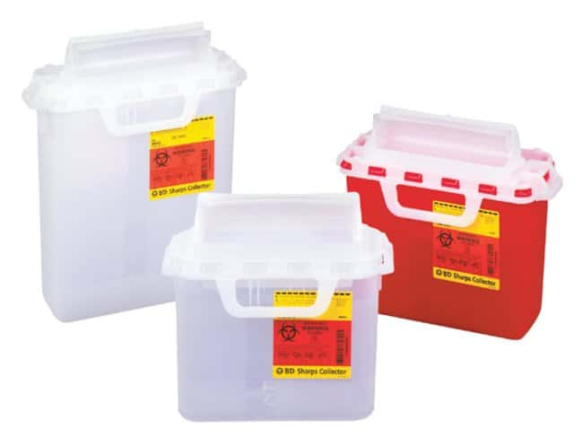 BDPatient/Exam Room Sharps Collectors:First Aid and Medical:Sharps Disposal