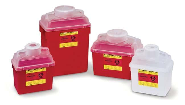 BDMulti-Use Nestable Sharps Collectors:First Aid and Medical:Sharps Disposal