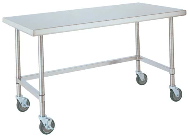 Metro™HD Super Stainless Lab Worktable, Mobile: Tables and Accessories Protection plan de travail