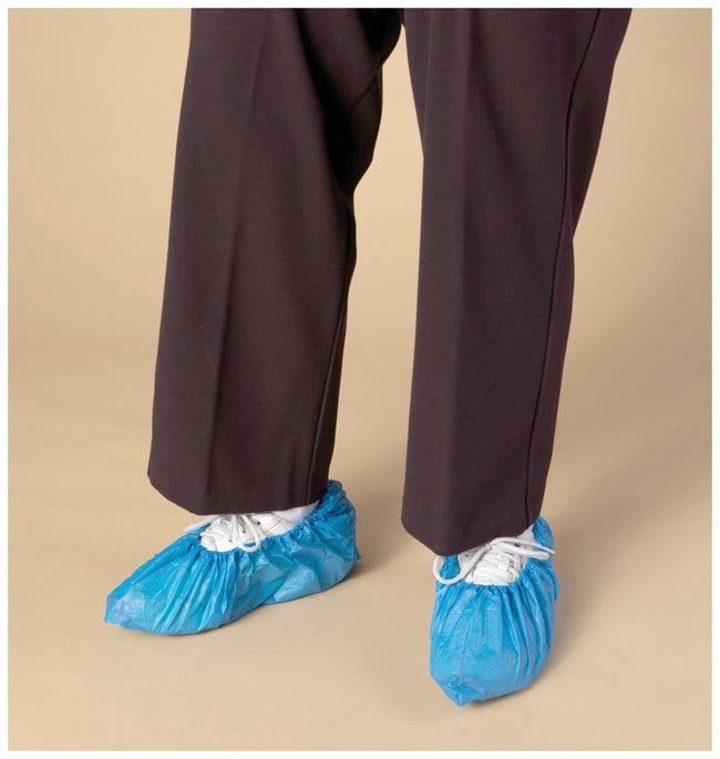 High Five Polyethylene Shoe Cover Blue; X-Large; 100/Bag; 1000/Cs.:Gloves,