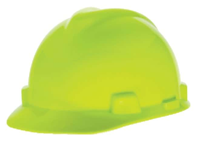 MSA V-Gard Slotted Protective Cap with Fas-Trac Suspension:Gloves, Glasses
