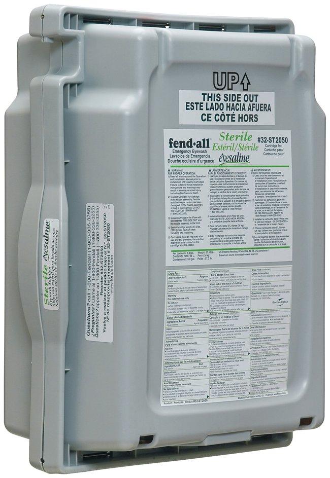 Honeywell Fendall Saline Cartridge for Pureflow 1000 and 2000 Eyewash Stations