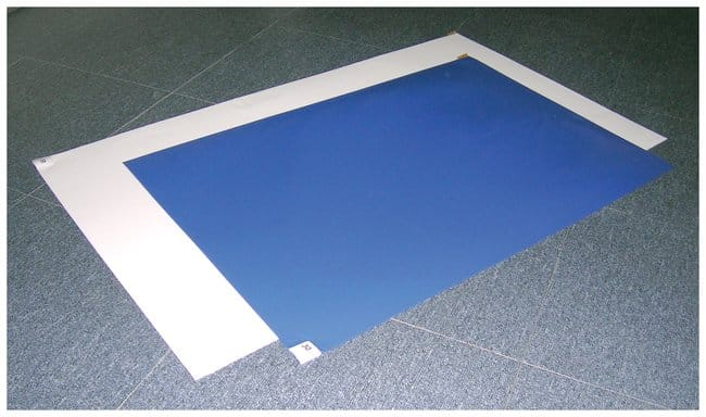 Fisherbrand™ Adhesive Entryway Mats Low-tack; 40 clear sheets on white mat; 24 x 45 in. (61 x 114cm) Fisherbrand™ Adhesive Entryway Mats