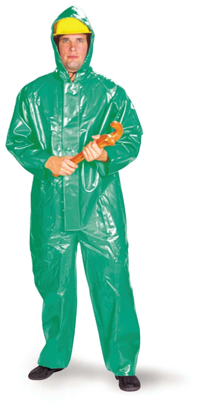 Neese Three-Piece Acid Suit Size: Large:Gloves, Glasses and Safety