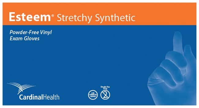 Cardinal HealthEsteem Stretchy Vinyl Gloves X-Large; Bulk:Personal Protective