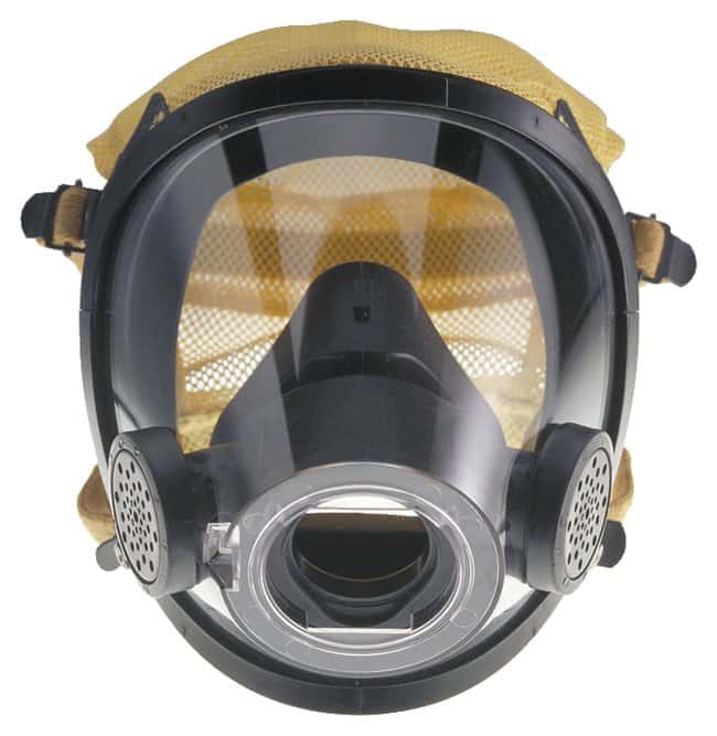 Scott Safety AV-3000 Facepiece  AV-3000 with Kevlar Head Harness; Large:Gloves,