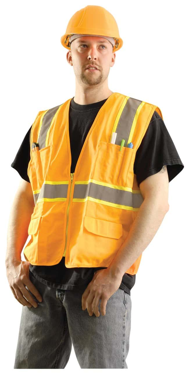 OccuNomix Class II High-Viz Vests:Gloves, Glasses and Safety:Lab Coats,