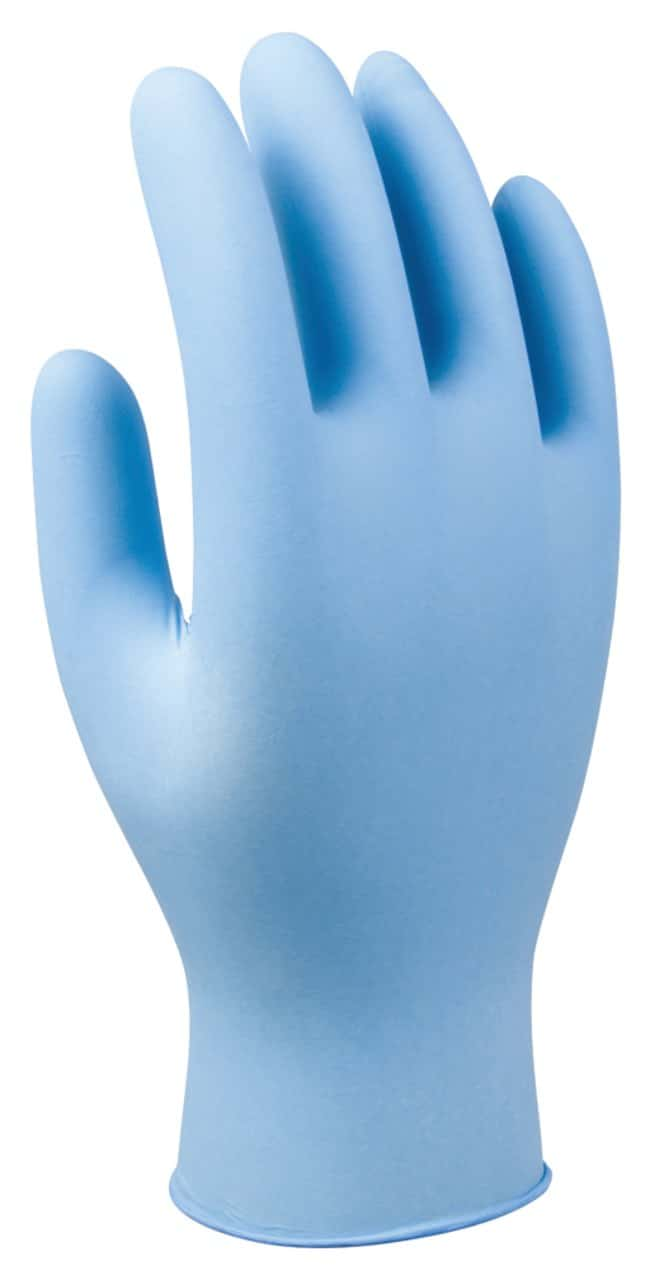 SHOWA Glove Nitrile Industrial Disposable Glove Small:Gloves, Glasses and