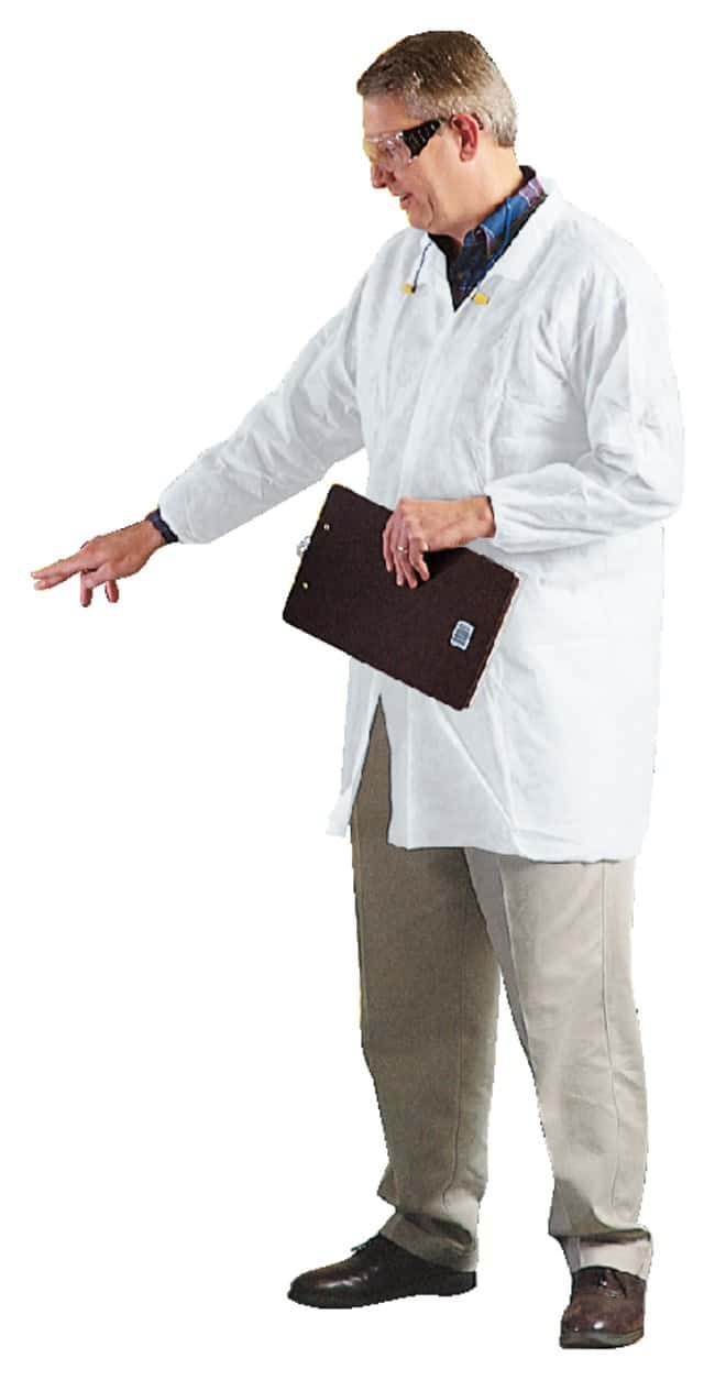 Kimberly-Clark Professional KleenGuard A10 Light-Duty Lab Coat 3X-Large:Gloves,