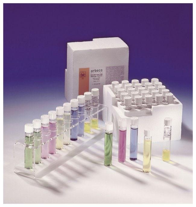 Lovibond™COD Tube Tests; MR; Mercury Free Mercury-free; 0 to 1500mg/L; 25 Tests Lovibond™COD Tube Tests; MR; Mercury Free