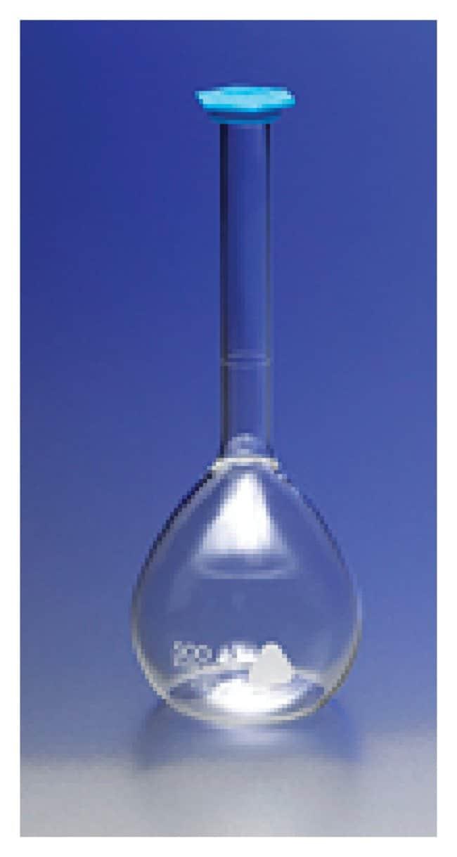 PYREX™ VISTA™ Class B Volumetric Flasks with Snap Caps