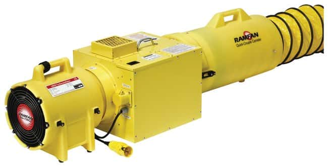 Euramco Ramfan UB20 In-Line Heater Systems:Gloves, Glasses and Safety:Confined