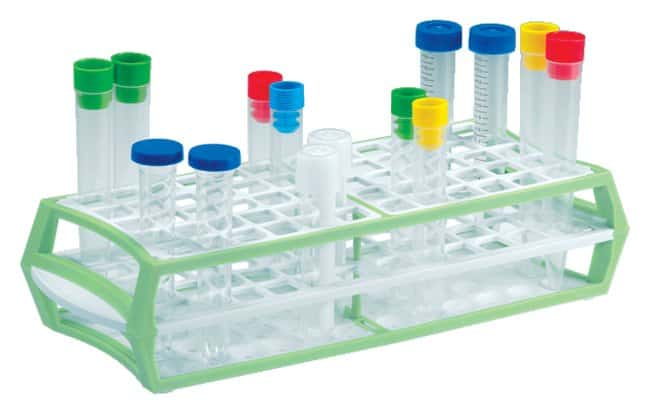 Simport Scientific MultiRack Tube Racks Green; Cap 84:Racks, Boxes, Labeling