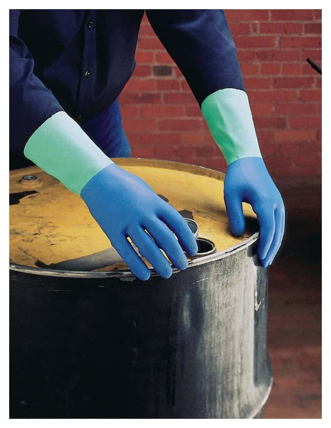 MAPA PROtector Nitrile-Natural Rubber Gloves Medium:Gloves, Glasses and