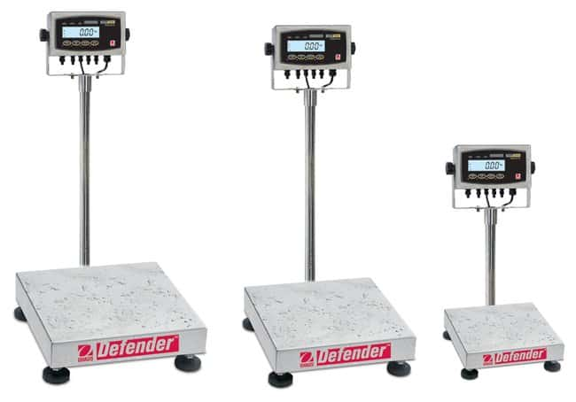 OHAUS™Defender 5000 Washdown and Dry Bench Scales