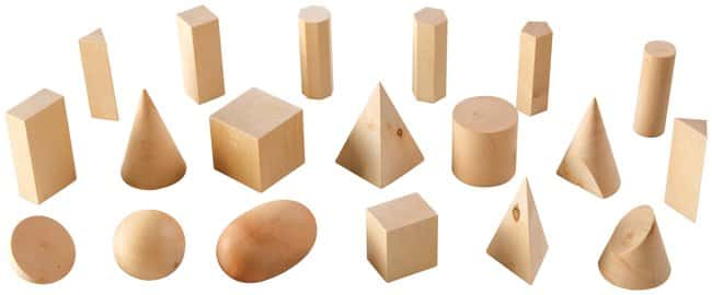 Wood Geometric Solids