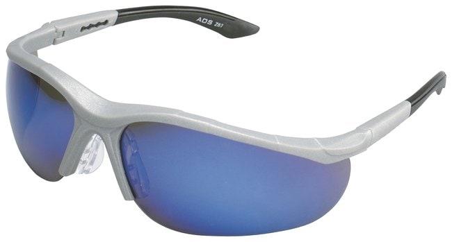 3M Virtua V10 Eyewear Blue mirror lens:Gloves, Glasses and Safety