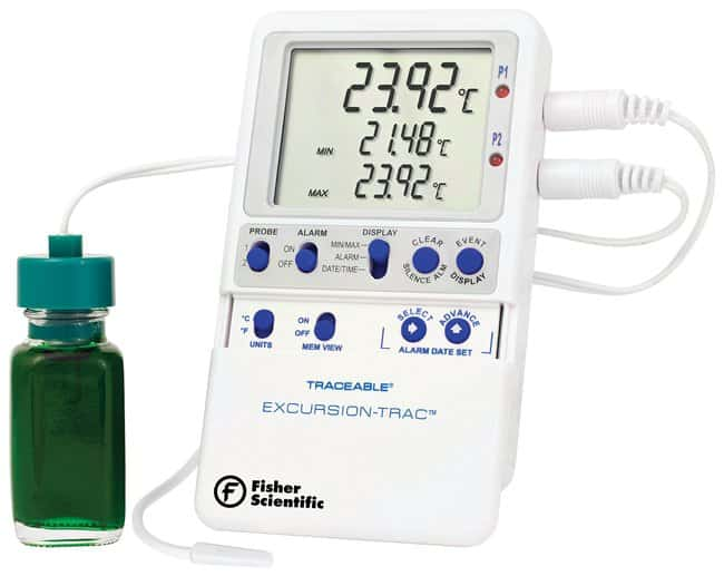 Fisherbrand™ Traceable™ Excursion-Trac™ Thermometer mit Datenprotokollierung