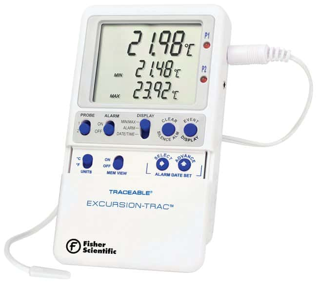 Fisherbrand™ Traceable™ Excursion-Trac™ Datalogging Thermometers