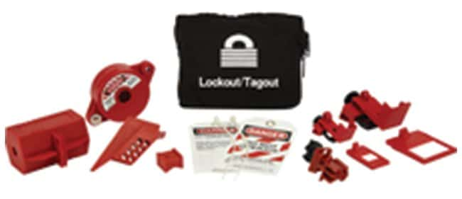 Brady Combination Lockout Pouch Kit Canvas; 2 in. x 7 in. x 6 in.:Gloves,
