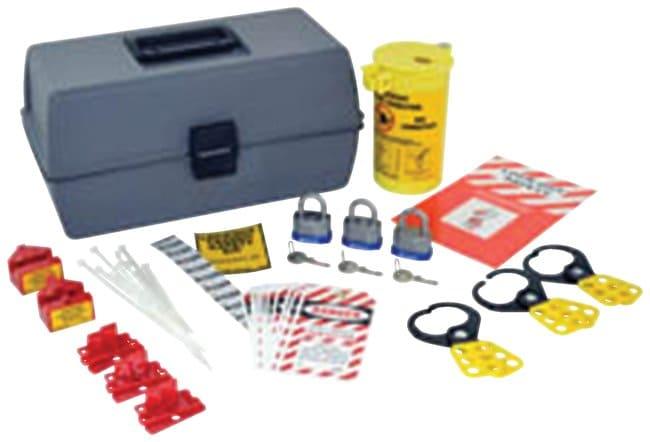 Brady Lockout Kit With Large Box Polyethylene; 6.5 in. x 14 in. x 5.25