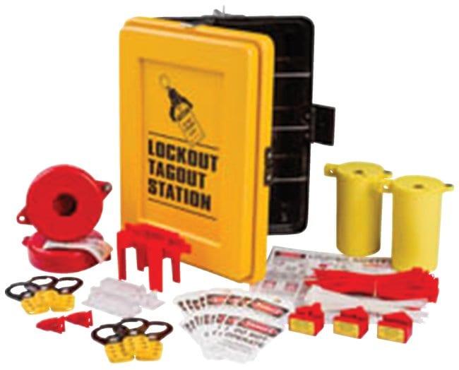 Brady Lockout Station 1/Kit:Gloves, Glasses and Safety