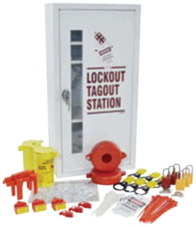 Brady Prinzing Lockout Tagout Station:Gloves, Glasses and Safety:Facility