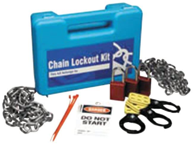 Brady Double Chain Lockout Kit Chain; lockout; Plastic; 4 in. x 11.125