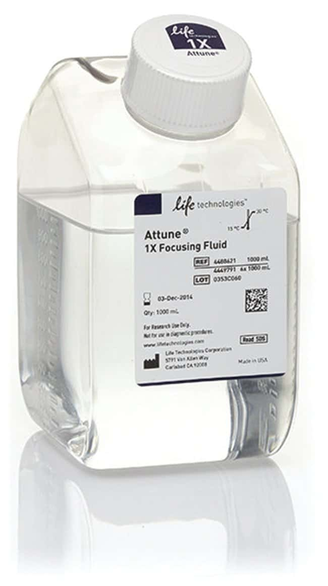 Attune™ Focusing Fluid (1X): Flow Cytometry Cell Analysis