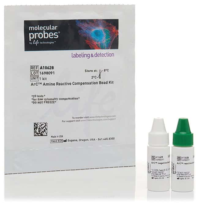 Invitrogen™ ArC™ Amine Reactive Compensation Bead Kit (for use with LIVE/DEAD™ Fixable dead cell stain kits): Flow Cytometry Cell Analysis