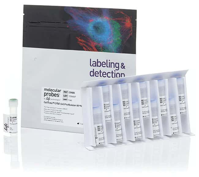 Invitrogen™ CellTrace™ CFSE Cell Proliferation Kit, für die Durchflusszytometrie 180 Reaktionen Invitrogen™ CellTrace™ CFSE Cell Proliferation Kit, für die Durchflusszytometrie