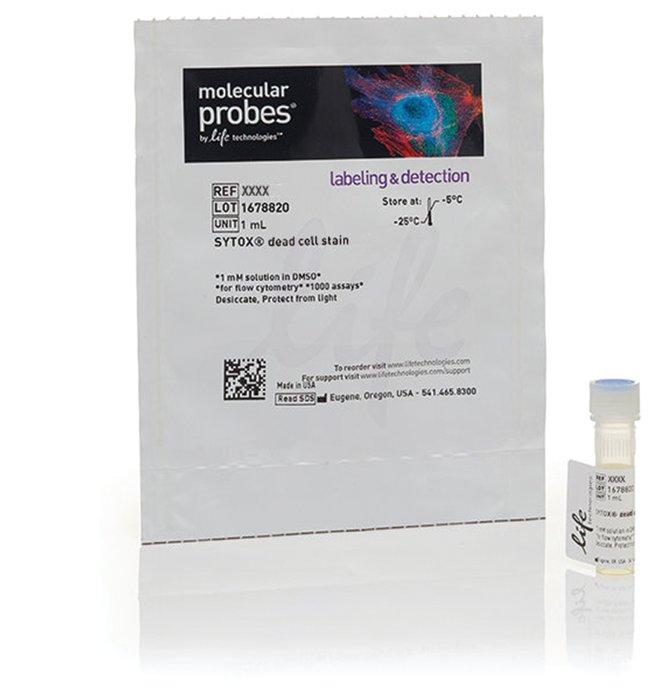 Molecular Probes™SYTOX™ Orange Dead Cell Stain, for flow cytometry 1mL Fournitures de cytométrie en flux
