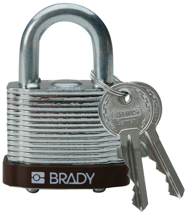 Brady Keyed-Different Steel Padlocks with 0.75 in. Shackle Locks:Gloves,