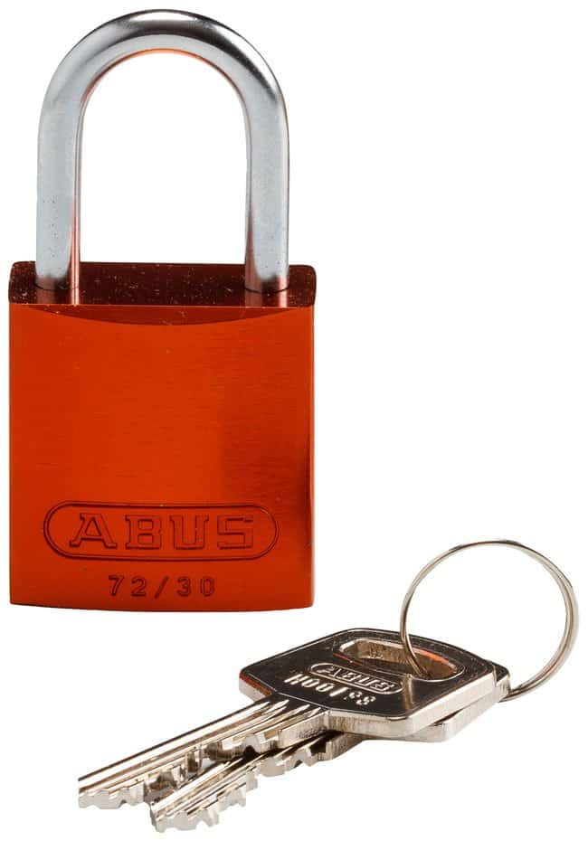BradyCompact Keyed-Different 1 in. Shackle Aluminum Padlocks:Facility Safety