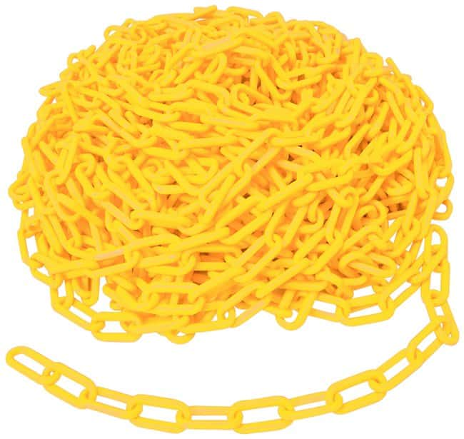 Brady Bradylink Warning Chains Link Size: 5.08cm (2 in.); Color: Yellow:Gloves,