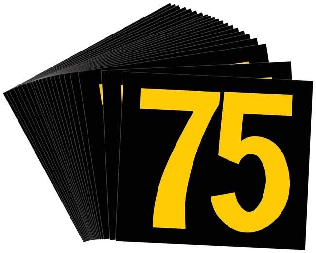 Brady Preprinted KVA Markers, Legend: 37 1/2 KVA Marker, Legend: 37 1/2:Gloves,
