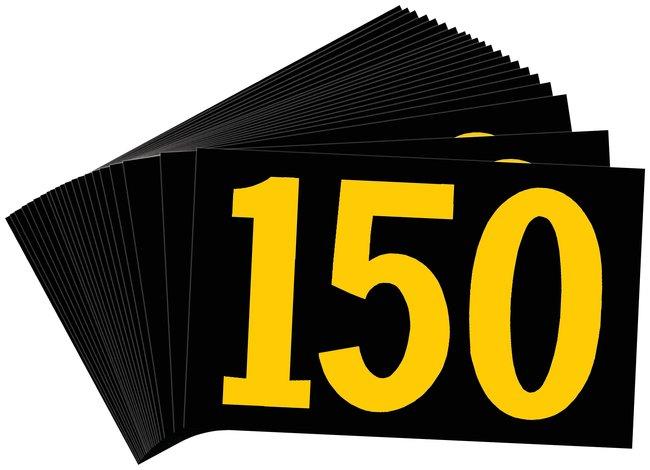 Brady Preprinted KVA Markers, Legend: 150 KVA Marker, Legend: 150:Gloves,