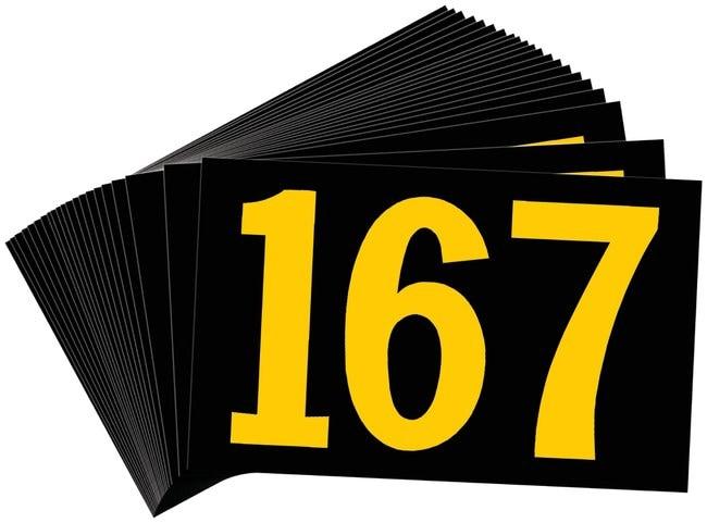 Brady Preprinted KVA Markers, Legend: 167 KVA Marker, Legend: 167:Gloves,
