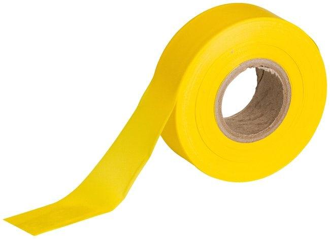 Brady Flagging Tapes Color: Yellow; L x W: 91.4m x 3cm (300 ft. x 1.187