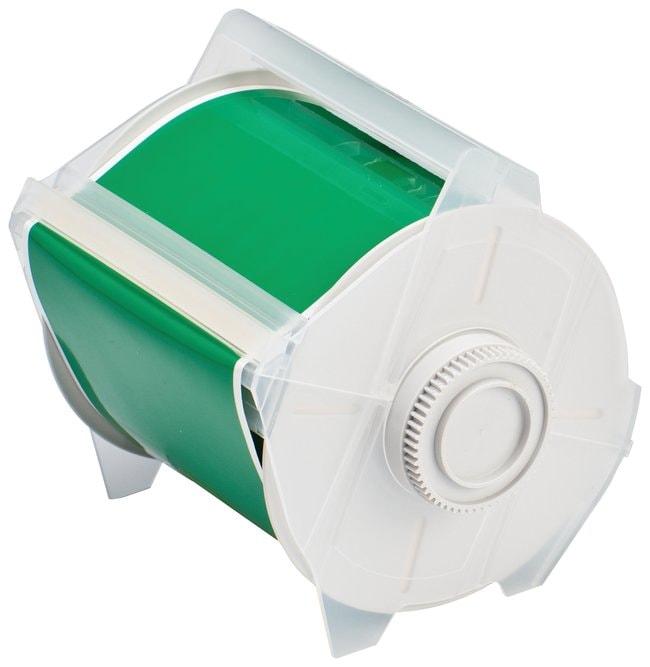 Brady GlobalMark Polyester Tapes Green; 4 in. x 100 ft.:Gloves, Glasses